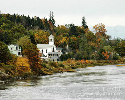 Canadian Town by Robert  Suggs