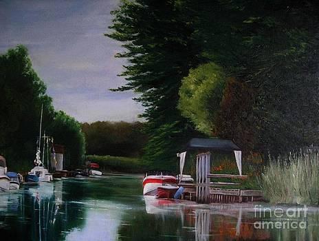 Canal at Dawn by Ronald Tseng