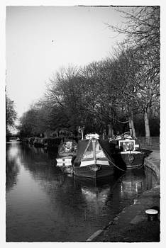 Canal Boats by David Durham