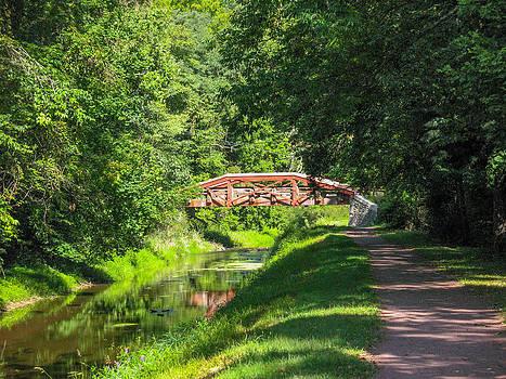 Canal Bridge by David Nichols