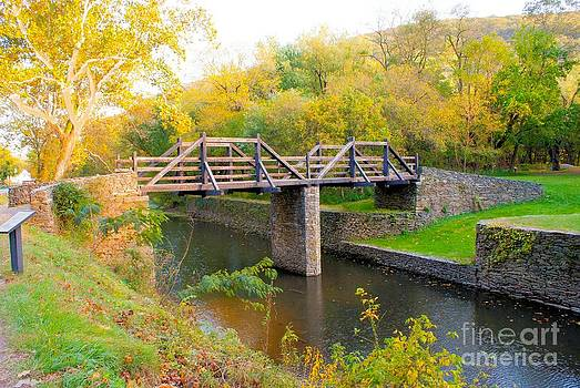 Canal Bridge Wv by Ronald Williamson