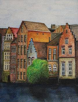 Canal Impression by Lois Bailey