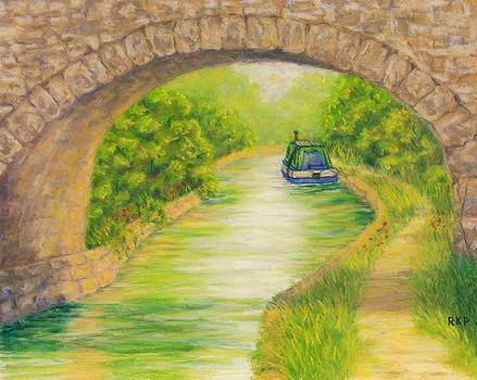 Canal in Wales by Rebecca Prough