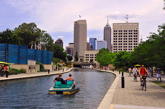 Canal of Indianapolis by Rob Banayote