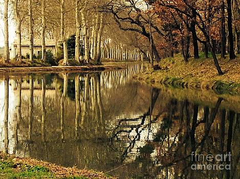 Canal Reflections by France  Art