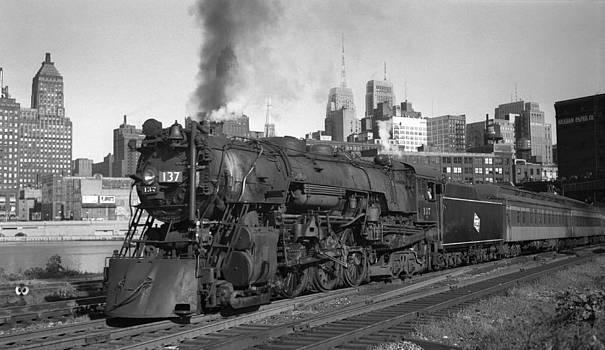 Henri Bersoux - Canal Street Locomotive 1949