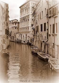 Canale di Venezia by Bishopston Fine Art