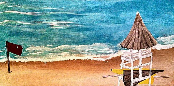 Cancun Beach by Tammy Cote