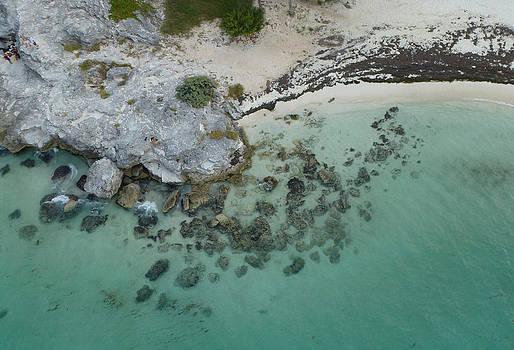 Cancun Shoreline by Ami Clayton