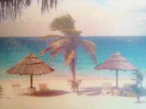 Cancun View by Karen Jensen