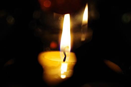 Sharon Popek - Candle Reflected