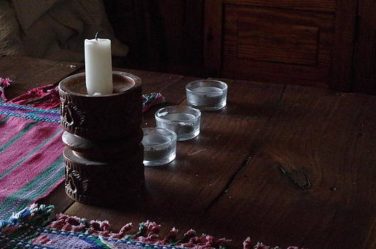 Candles in the Morning by Martin Bellmann