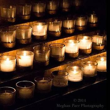 Candles. #nationalcathedral #cathedral by Meg Pace
