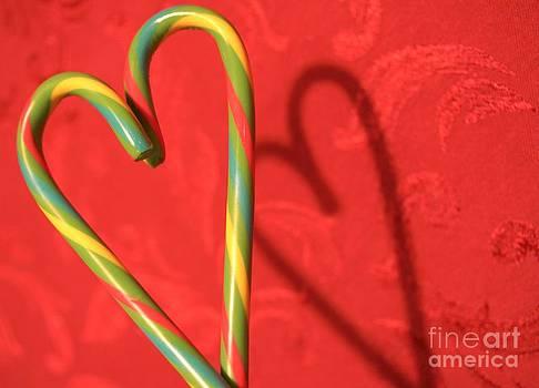 Candycane Heart by Kerri Mortenson