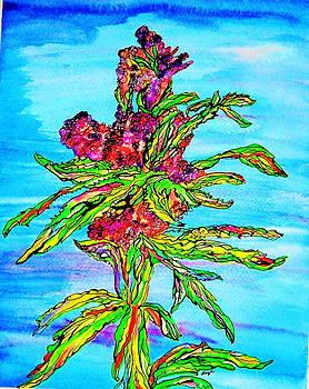 Cannabis Flowers by Sharon Leigh