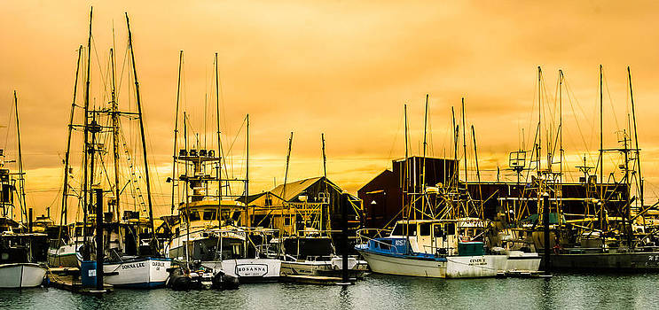 Cannery Sunset by Pandyce McCluer