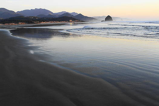 Cannon Beach Oregon by Steven A Bash