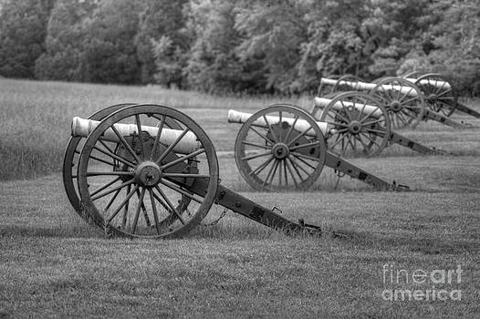 Cannon Row Black and White by Jonathan Harper
