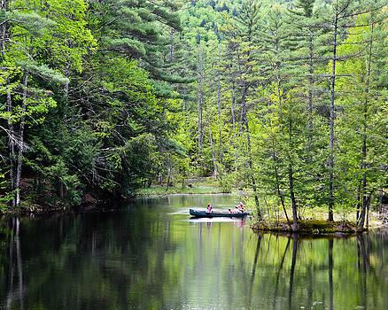 Canoe Ride by Cathy Hacker