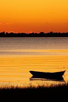 Canoe sunrise by Brian Magnier