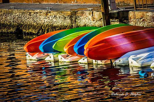 Deborah Hughes - Canoes