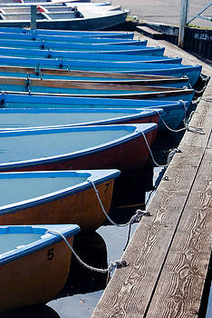 Canoes by Linda Freebury