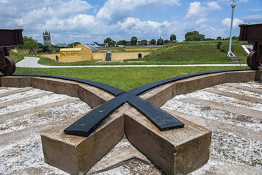 Dale Powell - Canon Rails at Fort Moultrie