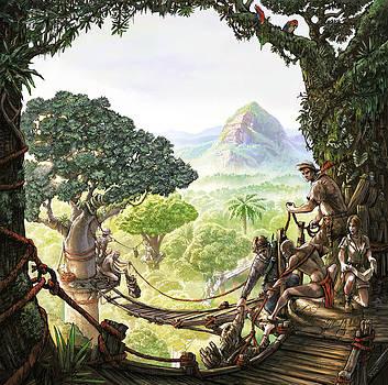 Canopy Walk cover art by Odysseas Stamoglou