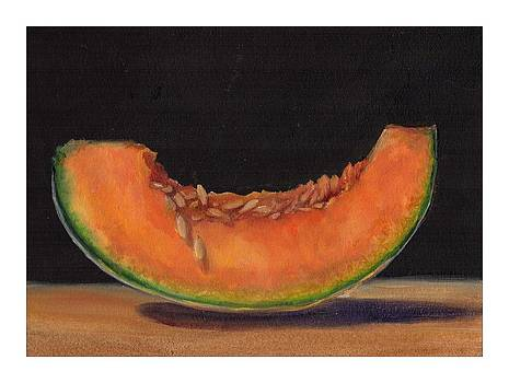 Cantaloupe by Donna Pomponio Theis