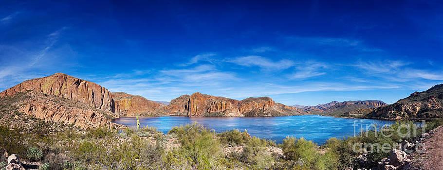 Jo Ann Snover - Canyon Lake panorama