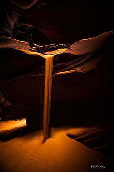 Canyon Sand from above by Bill Cantey