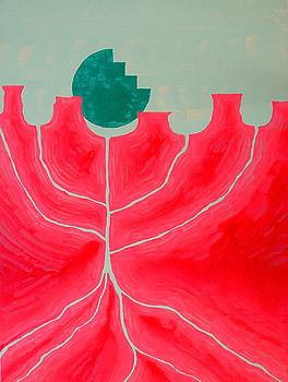 Canyon Tree original painting by Sol Luckman