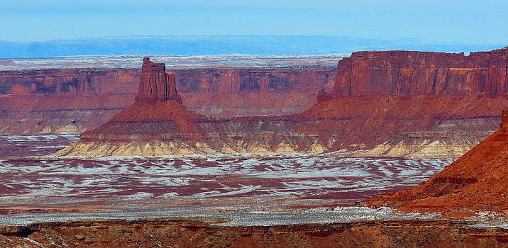 Canyonlands Winterscape by Alex  Call
