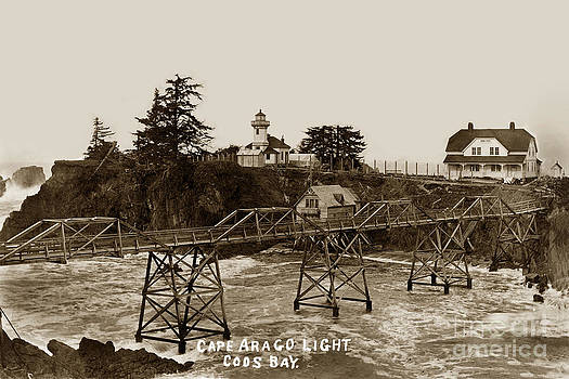 California Views Mr Pat Hathaway Archives - Cape Arago Light Coos Bay Oregon  circa 1915