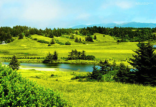 Cape Blanco State Park Oregon by Rafael Escalios