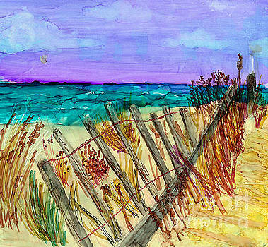 Cape Cod Dunes by Alene Sirott-Cope