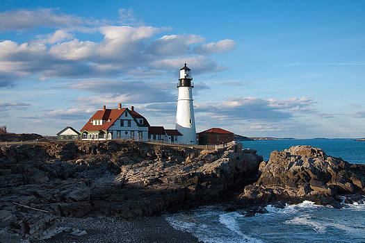Cape Elizabeth Lighthouse by Will Gunadi