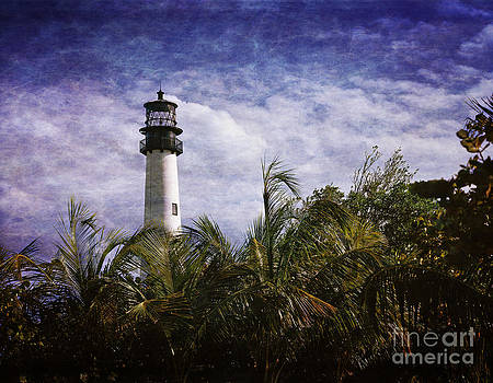 Cape Florida  lighthouse  by Heinz G Mielke