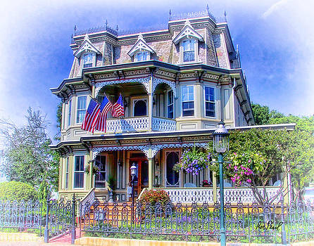 Cape May Bed and Breakfast by Ron Pearl
