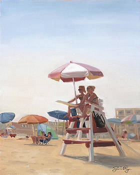 Cape May Lifeguards by Jamie Pogue