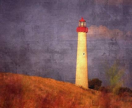 Cape May lighthouse by Dave Hrusecky