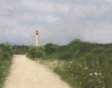 Cape May Lighthouse From a Distance by Jamie Pogue