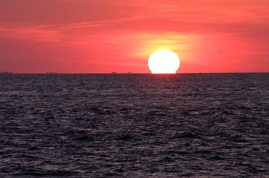 Cape May Point Sunset by Greg Graham
