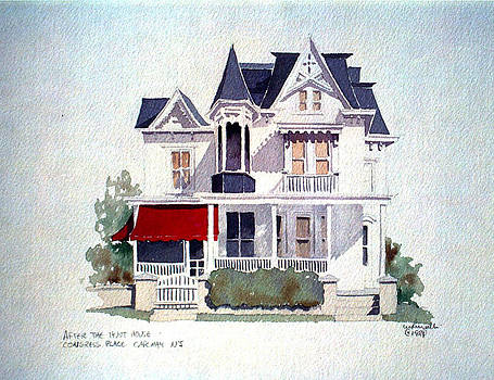 Cape May Victorian by William Renzulli