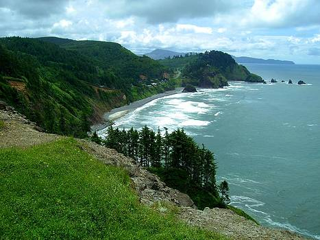 Cape Meares by Laureen Murtha Menzl