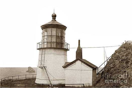 California Views Mr Pat Hathaway Archives - Cape Meares Lighthouse  circa 1920
