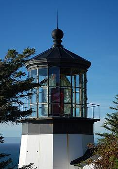 Cape Meares Lighthouse by Lawrence Pratt