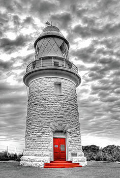 Cape Naturaliste Lighthouse by Geraldine Alexander