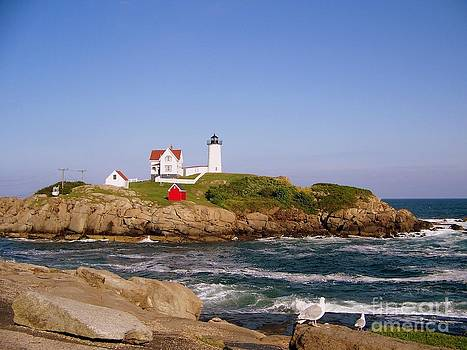 Maine Lighthouse by Eunice Miller