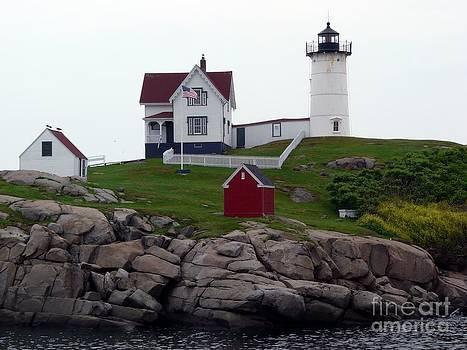 Christine Stack - Cape Neddick Nubble Lighthouse